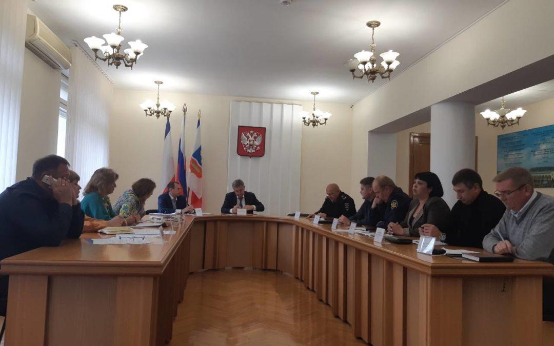 Заседание Антинаркотической комиссии муниципального образования городской округ Симферополь