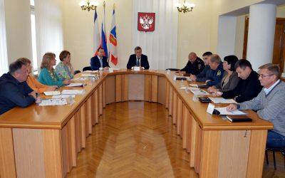 Заседание Антинаркотической комиссии города Симферополь