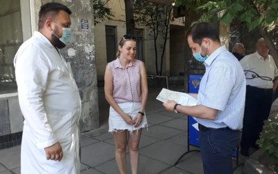 26 июня 2020 года, в Симферополе на улице Киевская прошли мероприятия, посвященные Международному дню борьбы с наркоманией